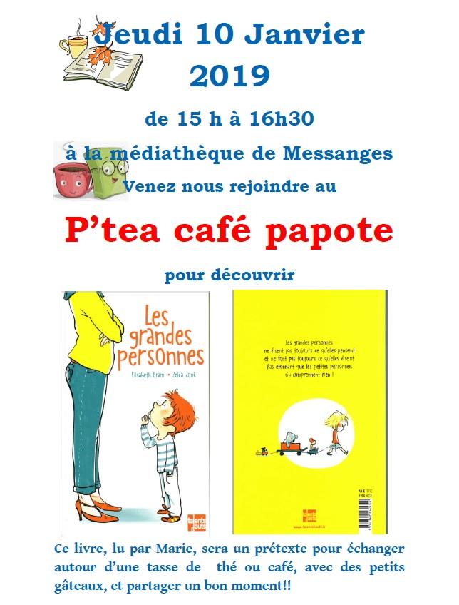 P'Tea Café papote