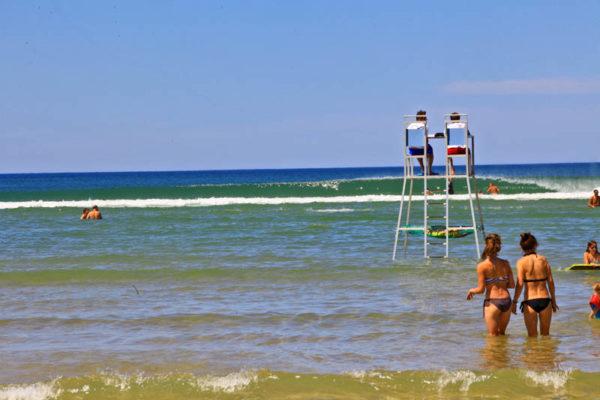 plage messanges nord plage surveillée