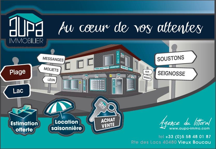 Agence Aupa logo_messanges_landes atlantique sud