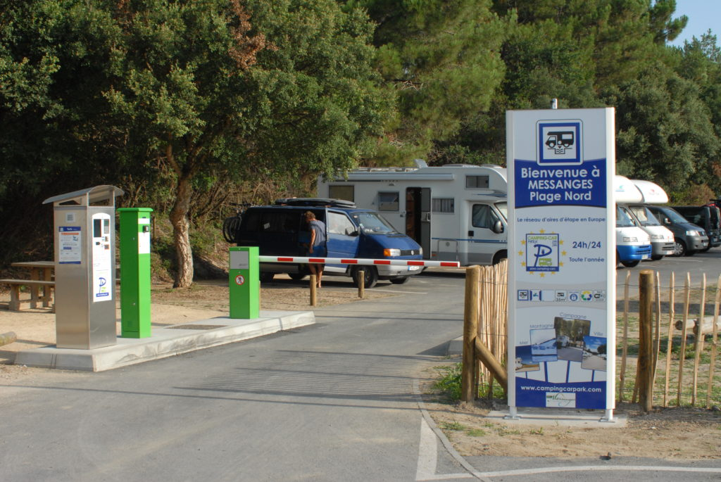 MESSANGES LANDES CAMPING CAR