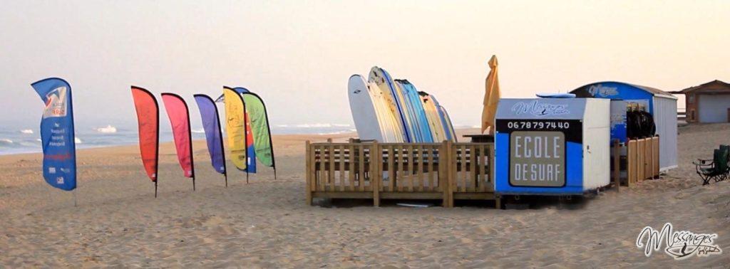 Messanges Surf School école