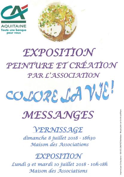 exposition peinture Messanges